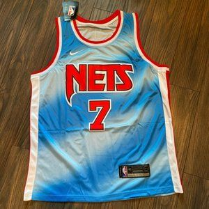 👣Kevin Durant Throwback Nets Jersey